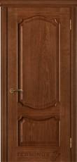 Міжкімнатні двері Модель 41 дуб браун зі шпону