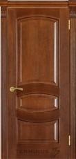 Міжкімнатні двері Модель 50 дуб браун зі шпону