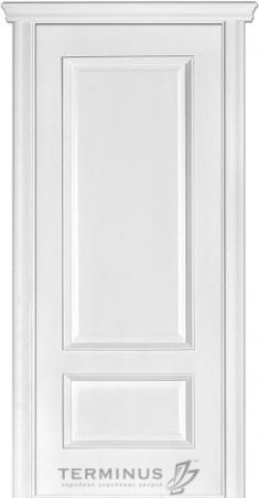Міжкімнатні двері Модель 52 ясен білий емаль зі шпону