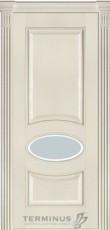 Міжкімнатні двері Модель 55 ясен Сrema зі шпону
