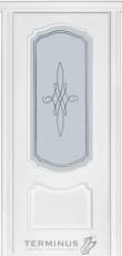 Модель 41 ясен білий скло 03с